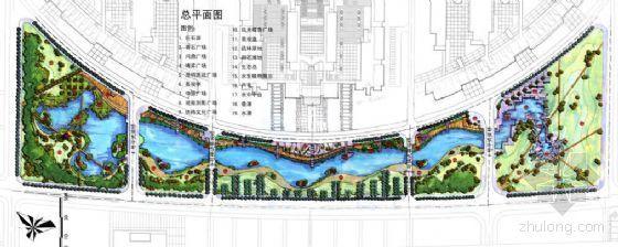 河南大学核心绿化带景观湖概念设计方案