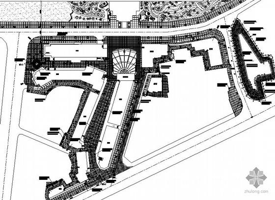川西民居风格商业街景观设计施工图