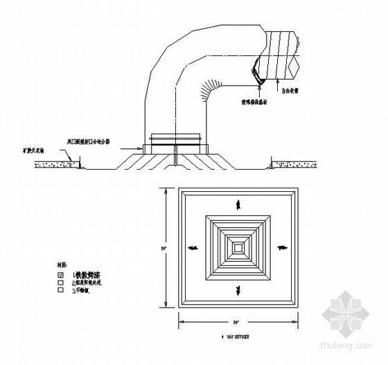 风管、水管安装节点详图