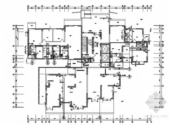[四川]高层住宅楼给排水图纸(水泵房 消防水池)