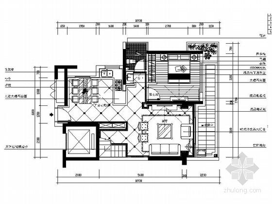 [名师设计]高档欧式复式样板房装修图(含效果)