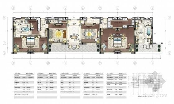 [上海]五星级花园别墅式国宾馆客房区套房室内设计方案