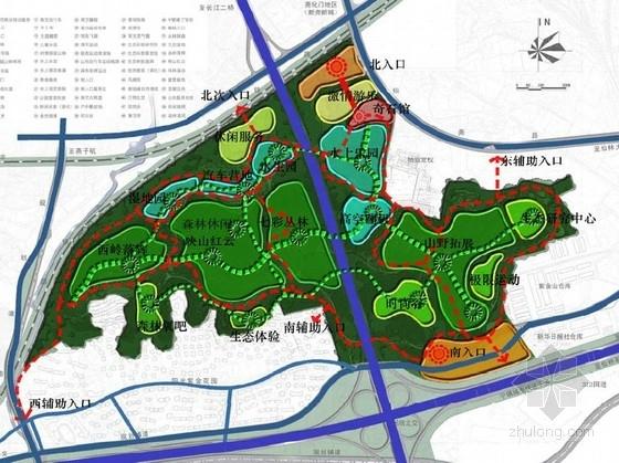 [南京]风景区公园景观设计总体规划方案