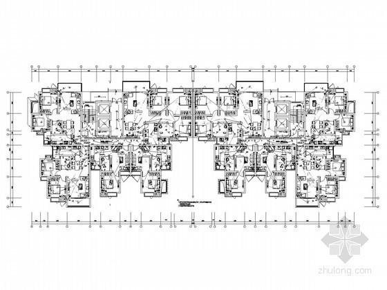 [甲级设计院]十八层大型综合楼及裙楼项目全套电气施工图纸277张(含地下室)