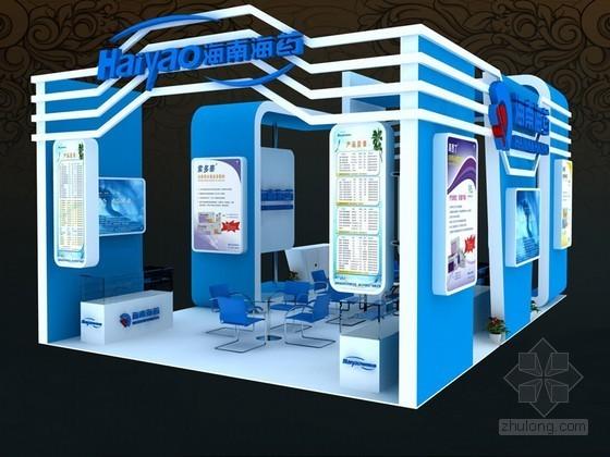 药业展示3D模型下载