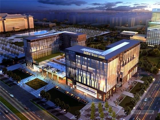 [安徽]现代风格高层办公楼建筑设计方案文本