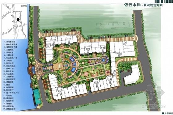 [福建]欧式居住区景观规划方案扩初设计