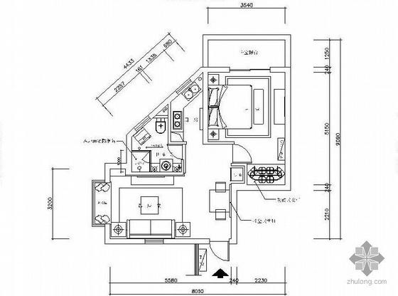 60平米公寓楼设计方案图