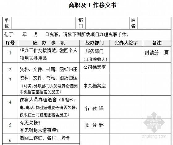 2015年知名房地产企业新员工入职培训表格(含11个文档)