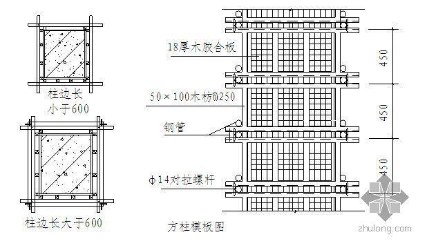 广东某多层住宅高支模施工方案