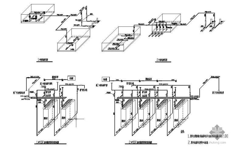 膜处理中水系统图纸