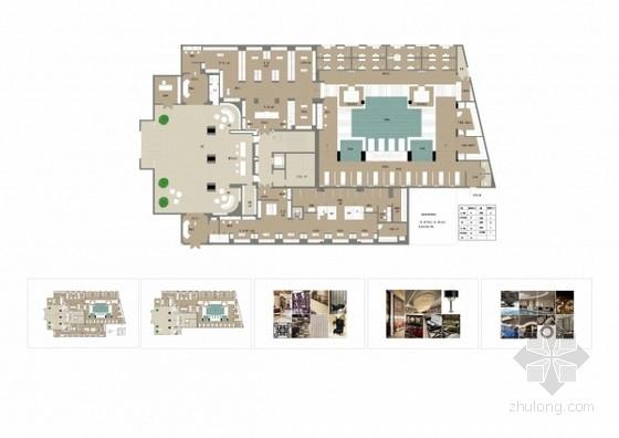 [河南]奢华高档浴都室内装饰设计方案图
