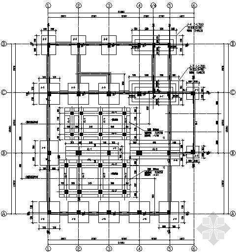 某锅炉房厂房结构设计图纸