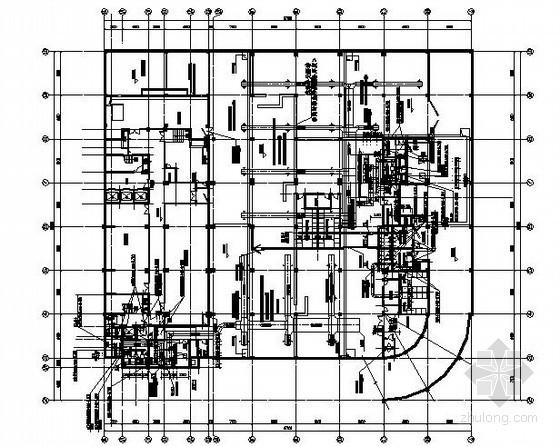 [武汉]高层办公楼多联机空调系统设计施工图