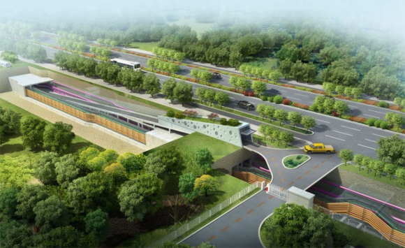 中新天津生态城北部区域综合管廊项目——BIM5D施工版应用