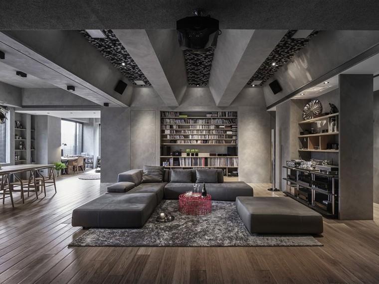 台北工业风的住宅
