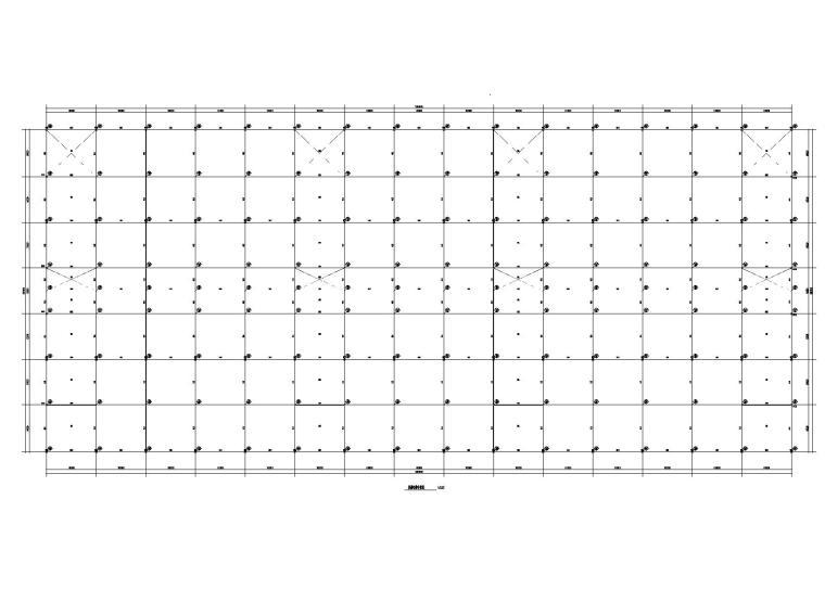 三层框架顶层门式钢架、65m三连跨厂房结构施工图(2015)