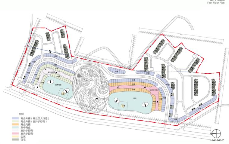 [湖北]超高层娱乐百货商业中心建筑设计方案文本(含CAD)_8