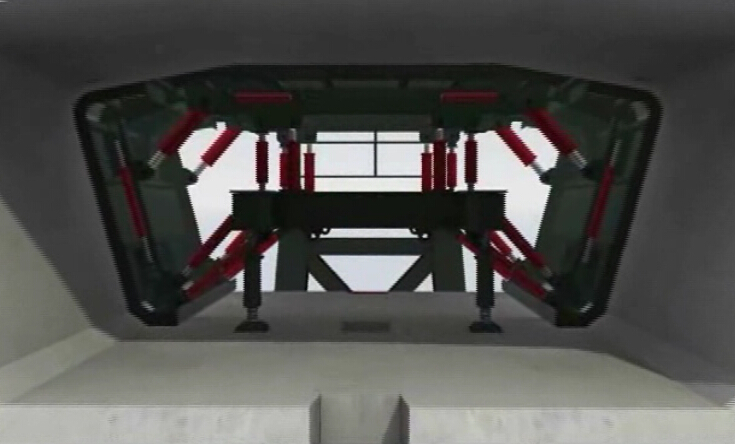 短线匹配法节段箱梁预制工艺全过程三维动画演示(4分钟)_3