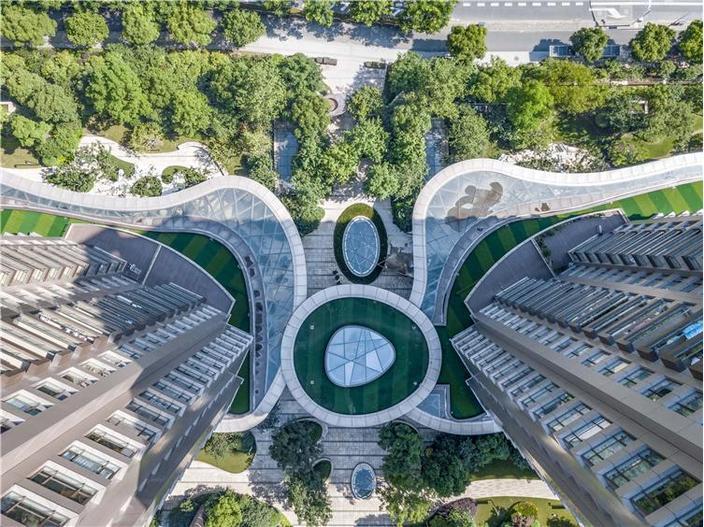 上海仁恒公园世纪住宅景观