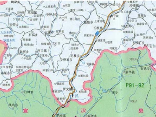 某气田工程道路、桥梁工程初步设计(附图纸)
