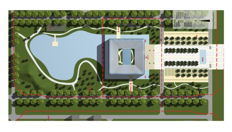[北京]北京建筑大学新校区图书馆方案设计
