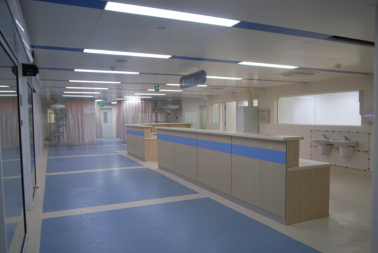 北大医院室内装修设计方案图及效果图(11张)