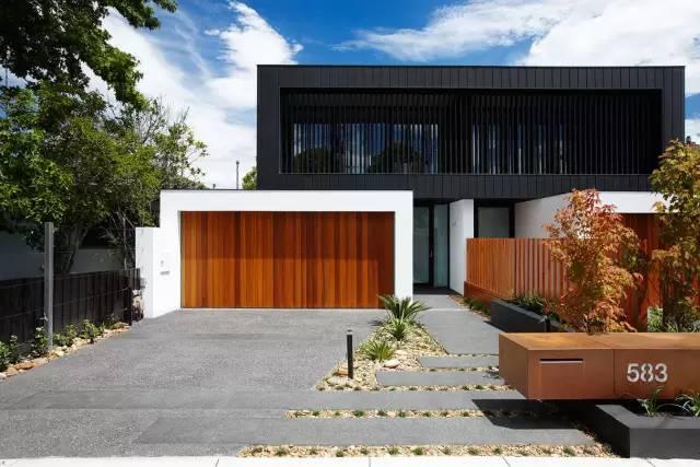 赶紧收藏!21个最美现代风格庭院设计案例_152
