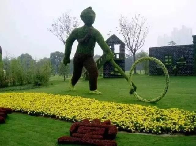 80个极美植物雕塑_52