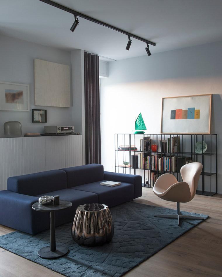 米兰公寓:艺术美感精致_2
