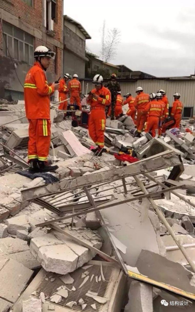 突发!福建一座5层民房倒塌!多人被困!现已救出15人!