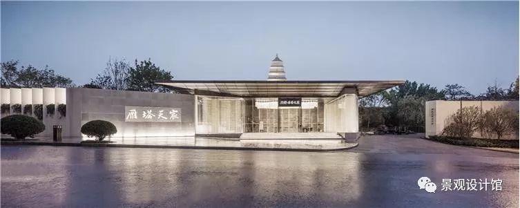 西安龙湖雁塔天宸景观设计项目案例赏析_2