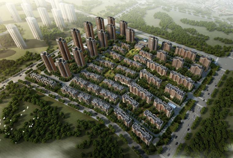 [天津]华文苑综合居住社区建筑设计方案文本