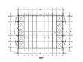 钢桁架篮球馆结构施工图