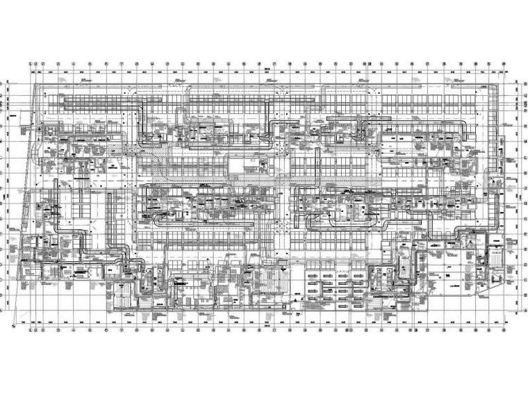 [青海]知名商业综合体空调通风防排烟系统(采暖设计,大院出品)
