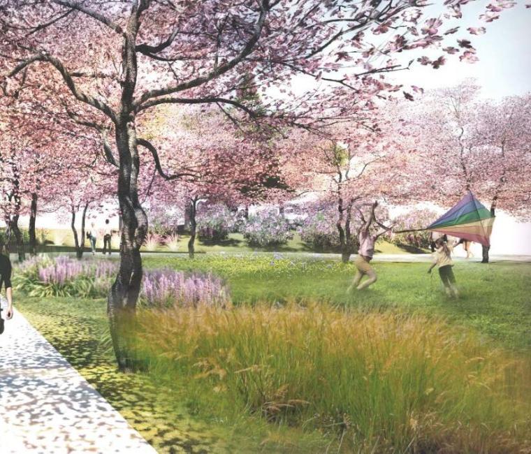 [陕西]西安汉溪湖公园景观方案设计文本(PDF+155页)