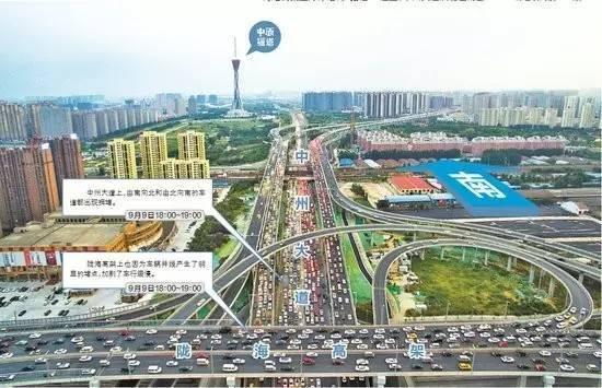 郑州6.5亿立交桥建成就堵,谁的智商是硬伤