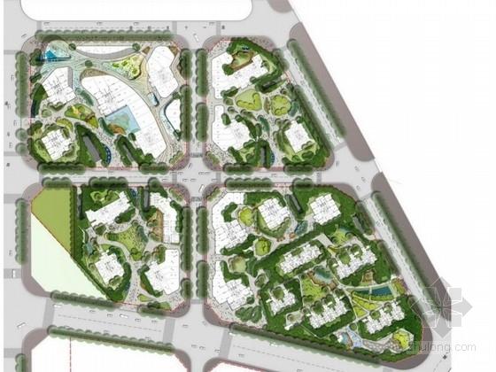 [北京]灵动的住宅小区景观设计方案