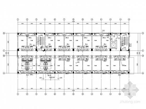 [湖南]宿舍楼及食堂建筑给排水施工图