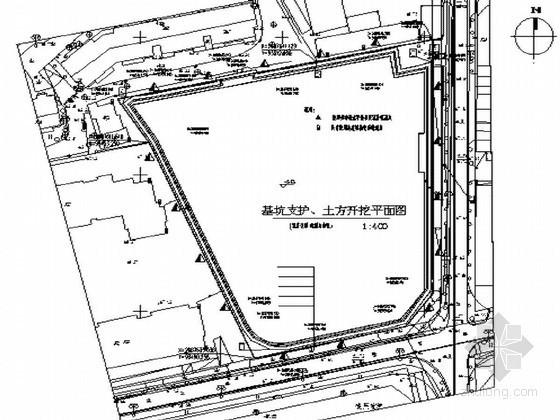 [广西]商业大厦基坑开挖及喷锚支护施工方案(原创)
