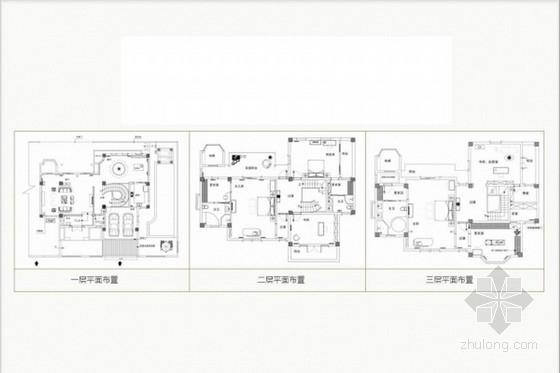 [福建]清新现代简欧风格三层别墅室内软装配饰方案设计