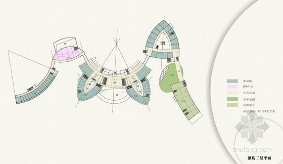 [广东]旅游产业园五星级酒店建筑设计方案文本-旅游产业园五星级酒店建筑平面图