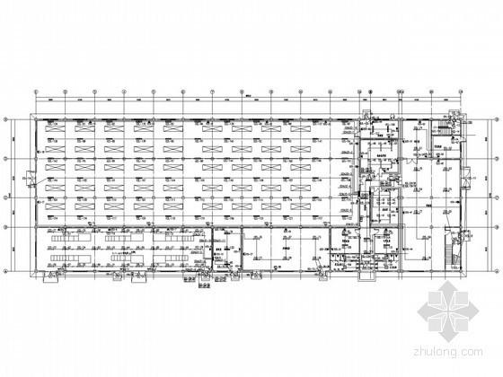 [江苏]大型厂房全套电气施工图纸94张(含二次原理图)