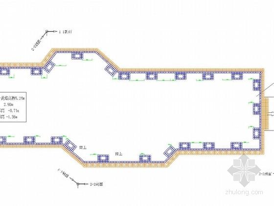 [浙江]厚淤泥地区搅拌桩复合土钉墙基坑支护施工图(含计算书)