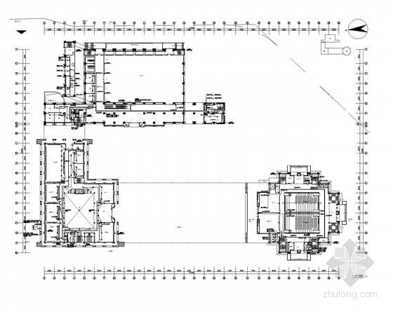 青少年宫建筑图纸资料下载-[湖南]青少年宫强弱电施工图117张(新火规)