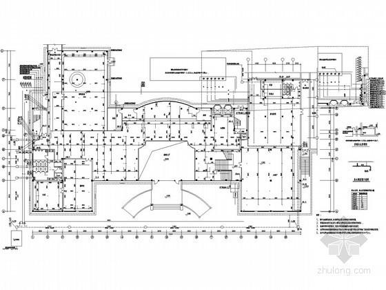 [南方]综合楼酒店建筑给排水图纸(茶座 餐厅 娱乐)