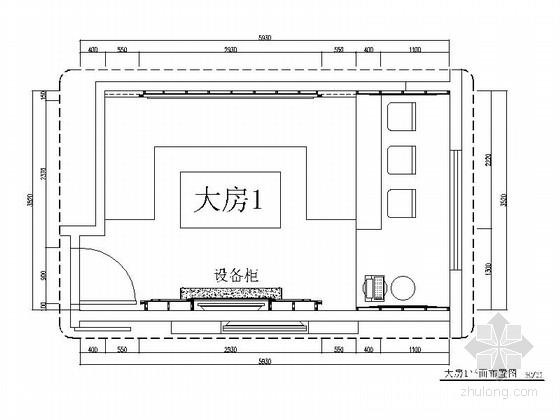 [深圳]繁荣金融区高档时尚量贩式KTV室内装修施工图(含效果及实景)