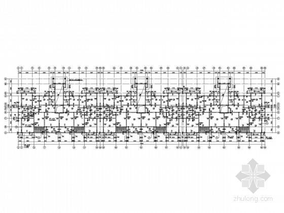 七层坡屋面剪力墙住宅结构施工图