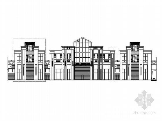 [福建]两层artdeco风格会所建筑施工图