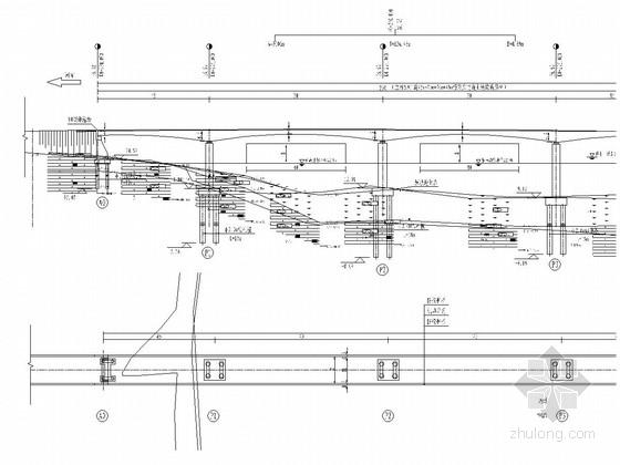 主桥90m预应力混凝土连续刚构特大桥全套施工图(50张 附大量计算文件)